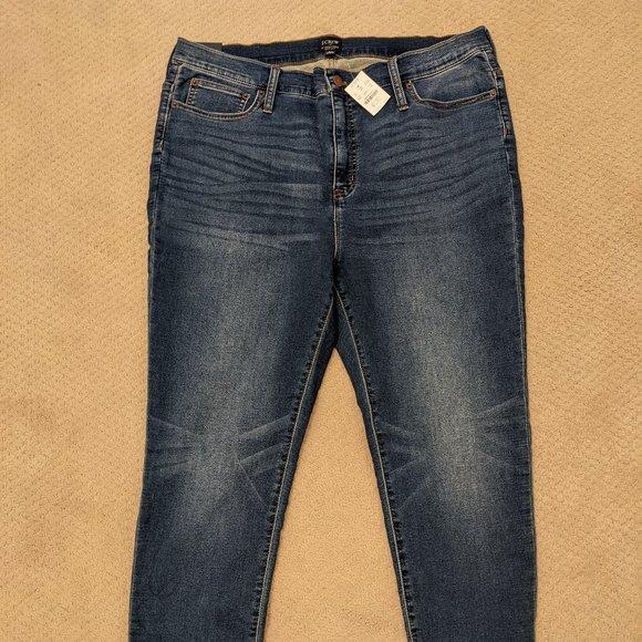 J.Crew 10 inch High Rise Skinny Jeans